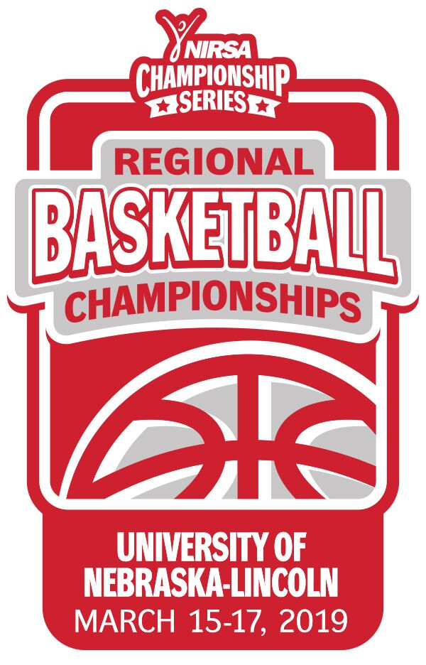 NIRSA basketball tournament at the University of Nebraska-Lincoln on March 15-17 logo