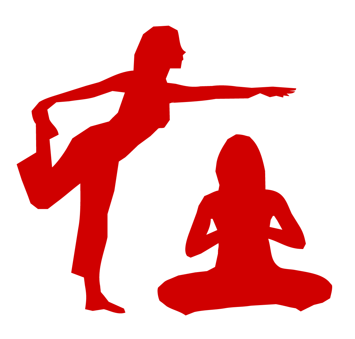 Two-person Yoga Icon