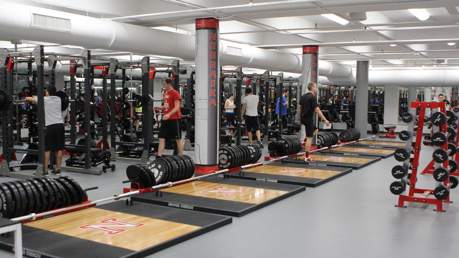 Strength Training and Conditioning Room