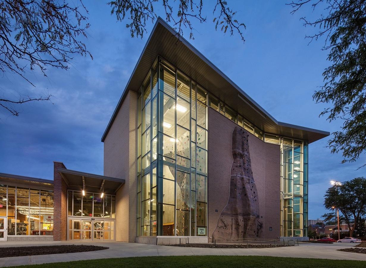 Exterior: Campus Recreation