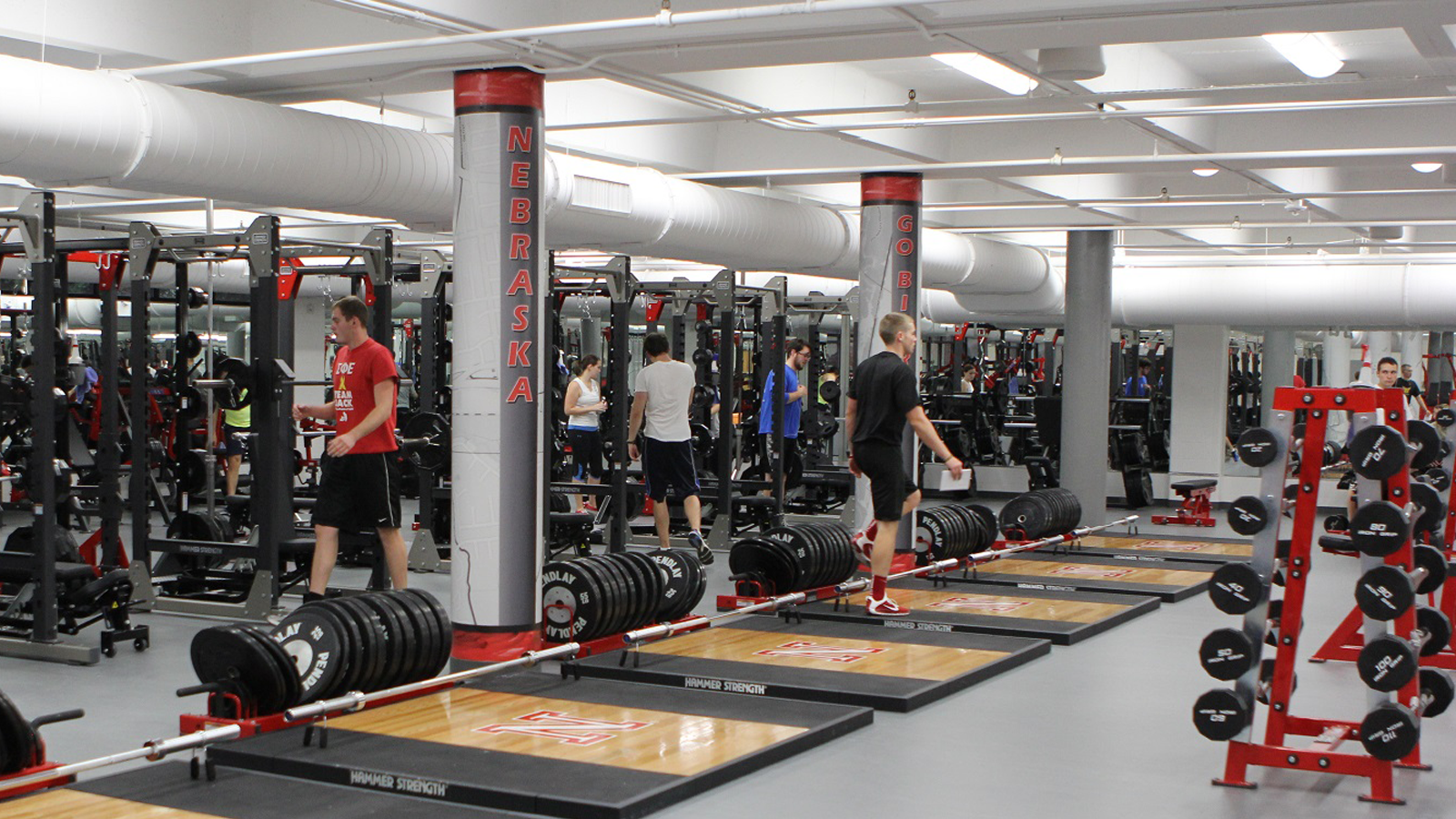 Campus Recreation Center Strength Training and Conditioning Room