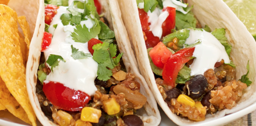 Picture of Black Bean Tacos